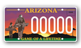 Southwest PGA License Plate